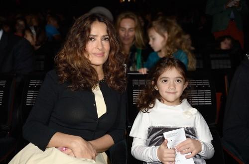 Salma Hayek & Valentina: Charity Chic (PHOTO)