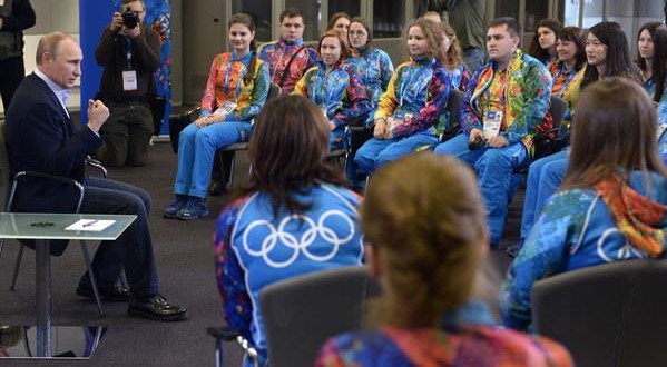 Vladimir Putin to Gays: 'Leave the Children in Peace'