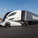 Walmart unveils futuristic truck