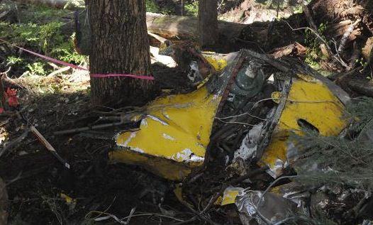 World War II plane crash:  remains found in Canada