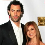 Isla Fisher : Actress joins husband Sacha Baron Cohen in comedy Grimsby