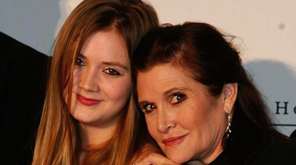 Billie Lourd To Play Princess Leia In Star Wars : Episode VII