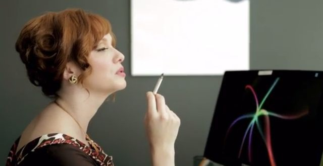 "Christina Hendricks ""Joan Holloway"" teams up with Funny or Die"
