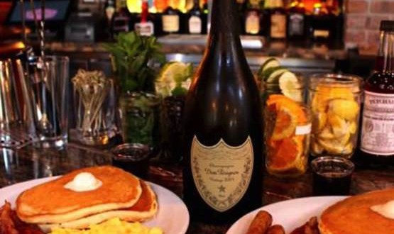 Denny's diner offers $300 breakfast complete with Dom Perignon