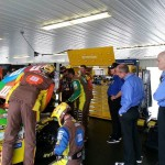 NASCAR : Car trouble sends Kyle Busch to garage early