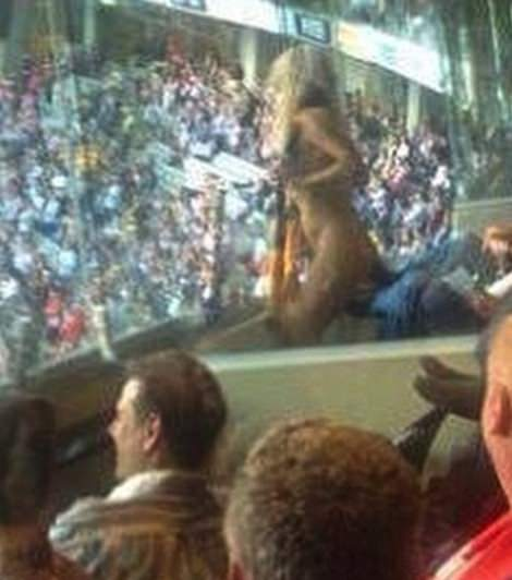 Heather McCartney charged over nude romp at AFL Grand Final