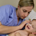 Little Luca's fight to survive after near-drowning, Report