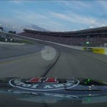 NASCAR driver nearly hits squirrel
