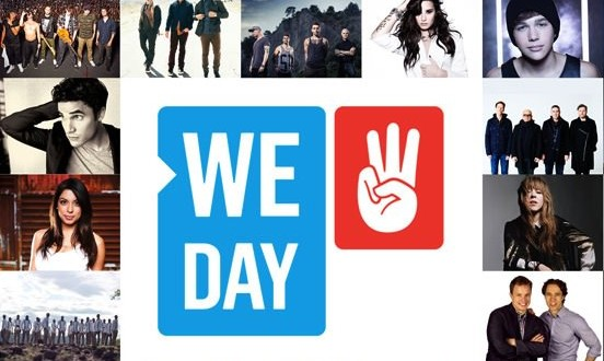 We Day Toronto and Vancouver Line-Ups Announced!