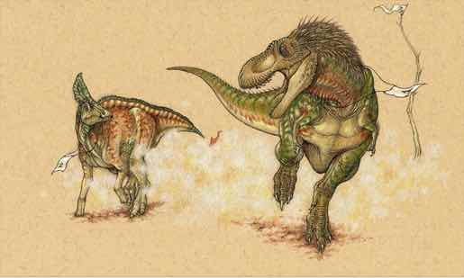 Dino Life-or-Death Chases Recreated, New Study