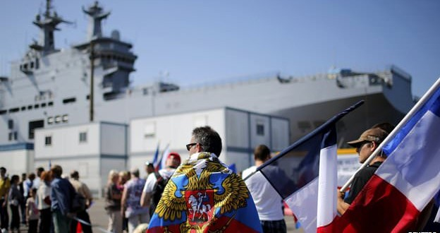 France holds up delivery of warships to Russia, Report