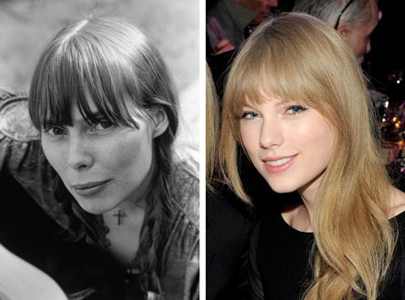 Joni Mitchell, Taylor Swift : Music Legend Joni Mitchell 'squelched' bio pic starring Taylor Swift (Video)