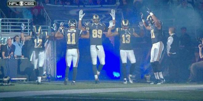 Bar Boycotts Rams : St. Louis Bar Disavows Rams Over Players' Ferguson Protest