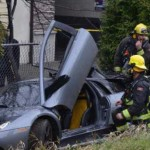 Speeding Lamborghini spins out on BC highway (Video)