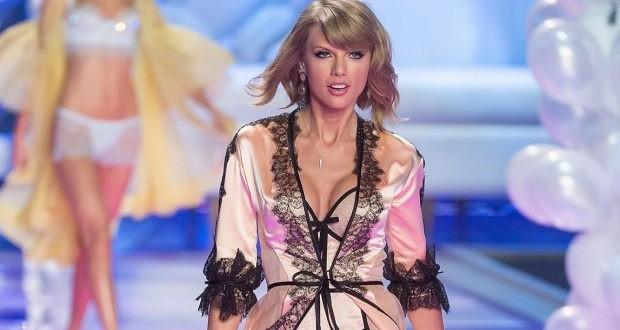 Taylor Swift Dons Lingerie For The Victoria's Secret Fashion Show (Photo)