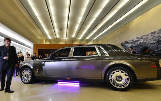 Vancouver showing of limited edition bespoke Rolls-Royce Phantom Pinnacle Travel (Photo)