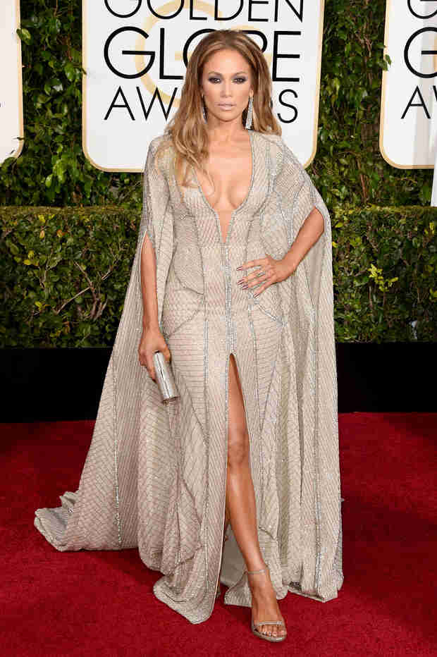 Jennifer Lopez Gown - Photo : Singer Slays Golden Globes Red Carpet In Zuhair Murad!