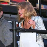 Taylor Swift Fall : Singer Fall down stairs at NYE show & One Direction shine!