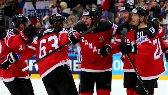 Ice hockey: Canada demolishes Russia to win world championship