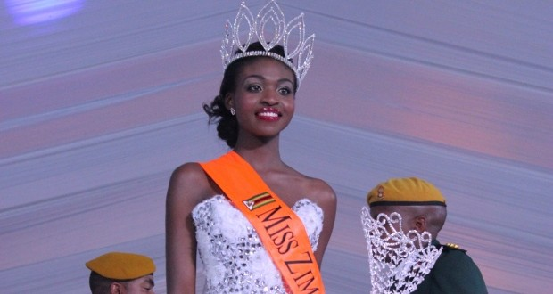 Miss Zimbabwe Is Stripped Of Her Title For Posing Nude