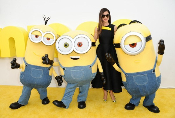 Sandra Bullock : Actress Looking Sleek at 'Minions' Premiere