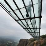 China suspension bridge now world's longest glass-bottomed walkway (Video)