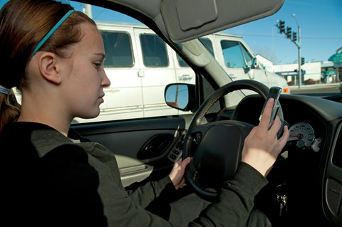 Fewer teens are texting while driving, new study says