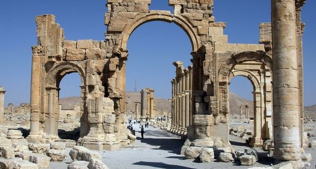 ISIS Detonates Ancient 'Arch of Triumph' Monument in Palmyra