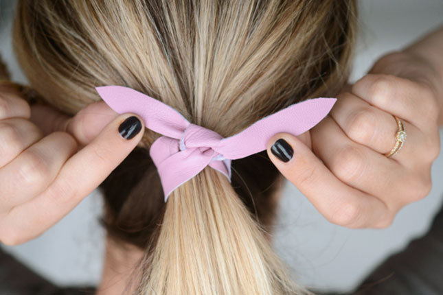 hair tie styles hair tie scare a warning for who keep hair 9041
