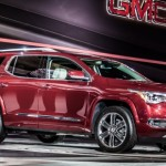 2017 GMC Acadia crossover is lighter but more powerful (Photo)