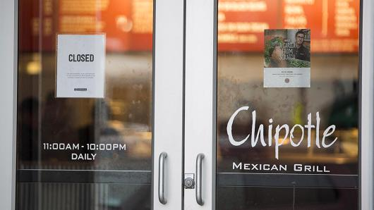 Chipotle closing all stores February 8th for food safety training, Report