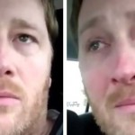 Dad's tears of joy for Down syndrome son (Video)