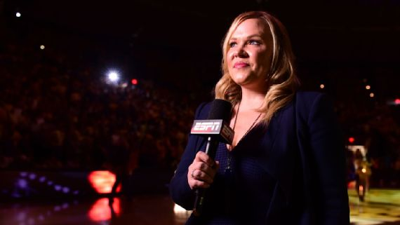 """Holly Rowe: Sports reporter to have second tumor removed from chest """"Report"""""""