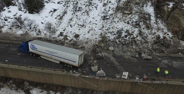 "I-70 in Glenwood Canyon Closed After Rock Slide ""Photo"""