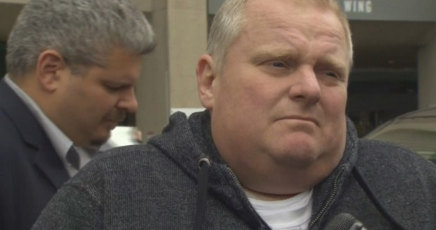 Former Mayor Rob Ford Admitted to Hospital in Battle with Cancer