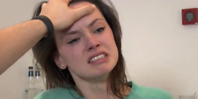 Daisy Ridley Audition Shows a Familiar Scene (Video)