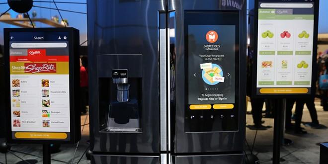 Samsung Unveils Family Hub Refrigerator
