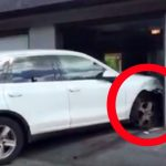 Expensive Porsche SUV ruined in teen's parking panic (Video)
