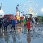 Lightning strikes fans at German rock festival