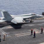 USS Truman Launches Air strikes Against ISIS From Mediterranean Carrier