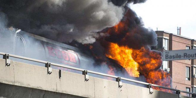 "Highway 40: Tanker explodes, killing driver ""Video"""
