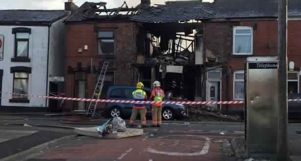 Manchester house explosion: Man dies after huge blast destroys family home