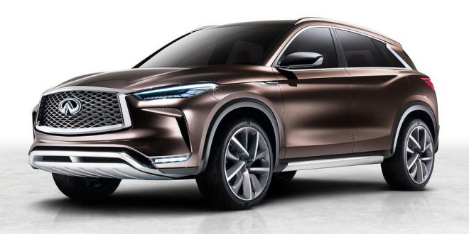 New Infiniti QX50 Concept With ProPilot to Debut in Detroit