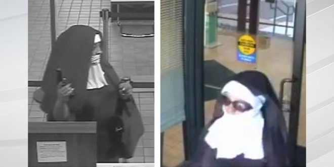Nuns rob Poconos bank! Duo charged with robbing two New Jersey banks