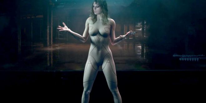 Taylor Swift reponds to critism over nude bodysuit (Video)