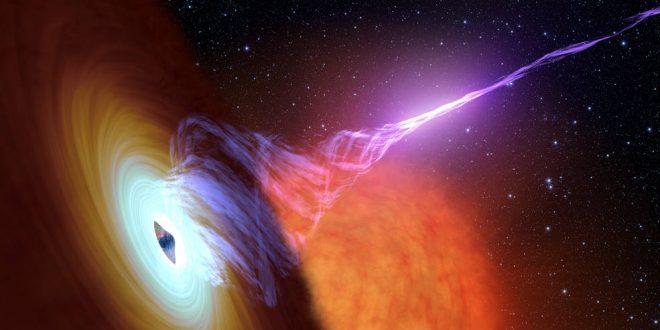 Astronomers confirm how black hole relativistic jets form