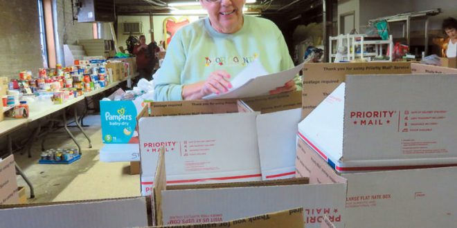 LeAnn Boudwine: woman's charity nears 10,000 solider care packages