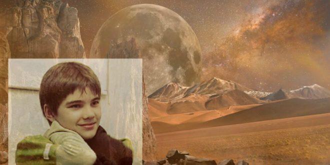 Russian Kid Boriska Kipriyanovich Claims He Is From Mars