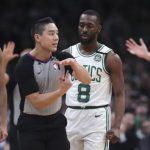 Fan arrest Boston Celtics game, fan banned from NBA arenas