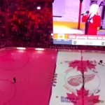 Red Wings fans Canadian anthem, picked up national attention Tuesday